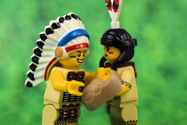Tribal Indian Family