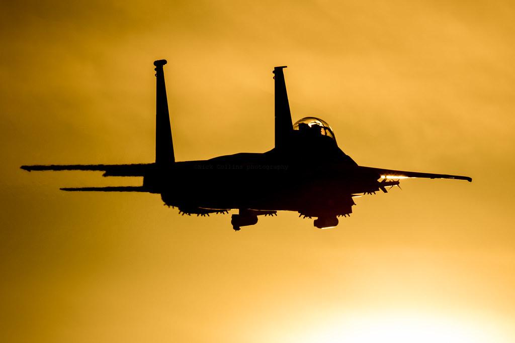 Strike Eagle low approach