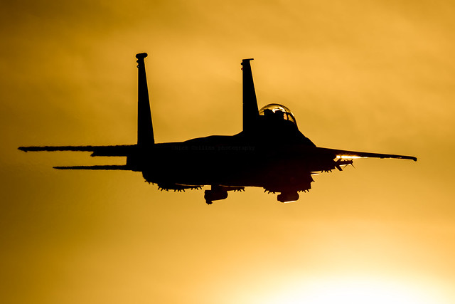 Strike Eagle low approach