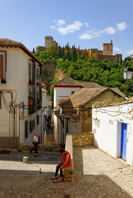 Granada : Albaicín promenade