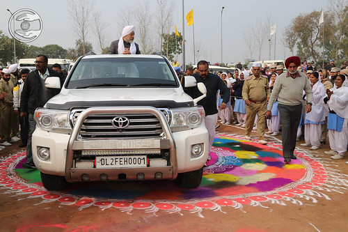 Arrival of His Holiness in Satsang Pandal
