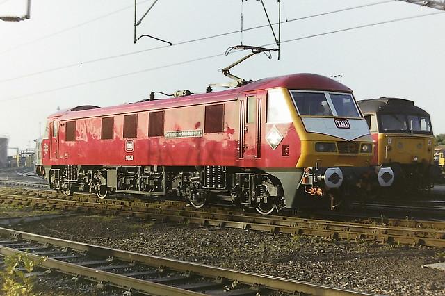 BRITISH RAIL 90129 FRACHTVERBINDUNGEN