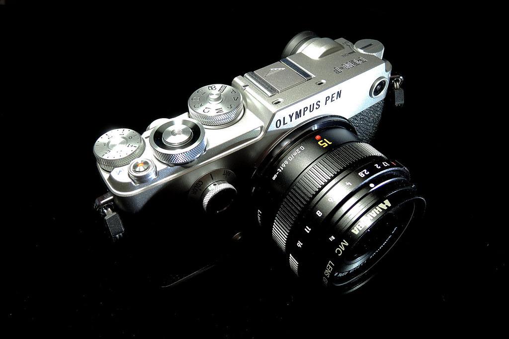 my new camera : OLYMPUS PEN-F : lens LEICA DG SUMMILUX 15m