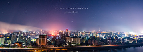 Night Sky and Stars in Pyongyang City | by reubenteo