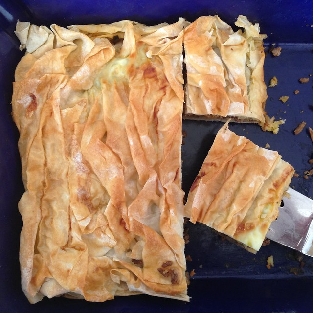 Ground Beef Phyllo Recipe: Flickr: The Ethnic Baked Goods Pool