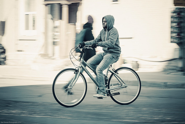 Opus Rider on Bank Street