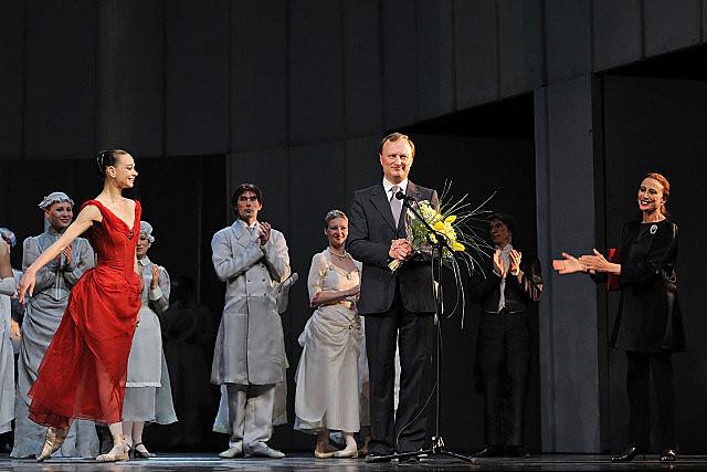 the prize of  Maya Plisetskaya for Anna Karenina