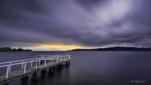 longexposure sunset newzealand landscape nikon jetty taupo aotearoa laketaupo 10stop newzealandnorth leebigstopper aaronbishopphotography