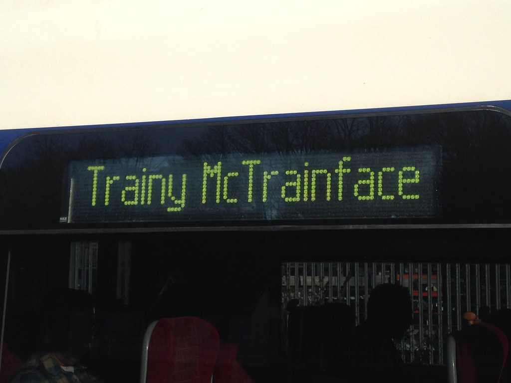 Trainy Mctrainface at Haslemere, March 22nd 2016
