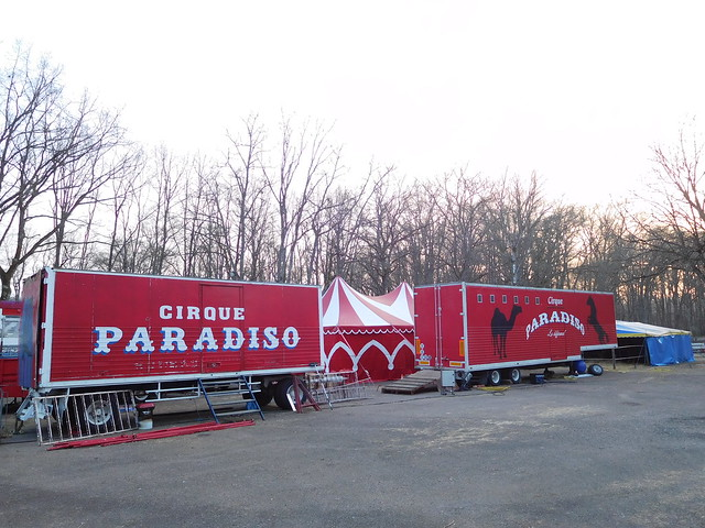 Paradiso Circus in winter