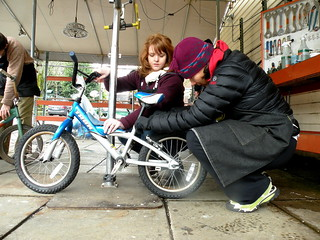 Community Cyling Center Bike Cleanup | by ClimateTrust