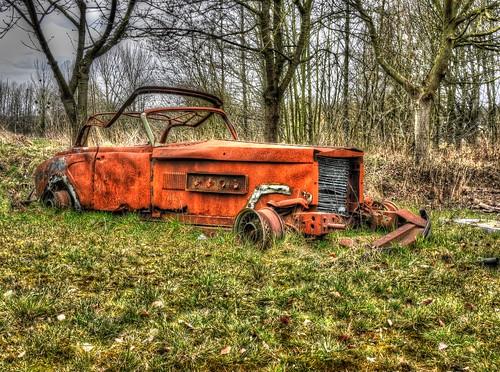 Autowrak, Clenet Series II Cabriolet  --HDR--   by Frank Berbers
