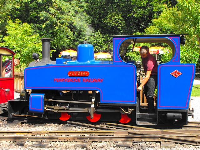 Lydia @ Perrygrove Railway - Aug. 2013