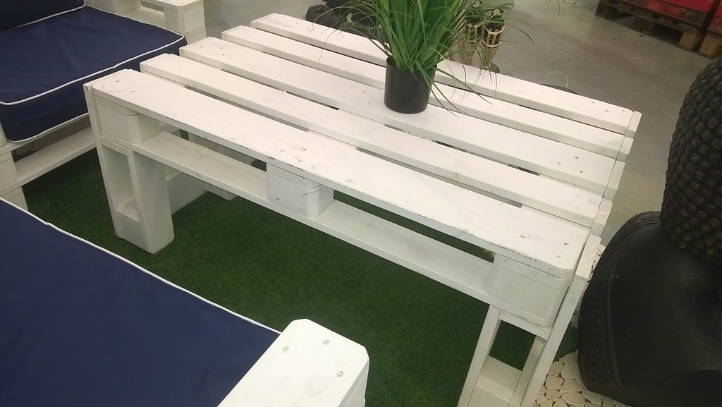 Lieblings Gartentisch aus Paletten | Eine kleine Idee wenn ihr euch ei… | Flickr #IF_62