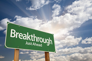 Breakthrough Green Road Sign | by Wonder woman0731