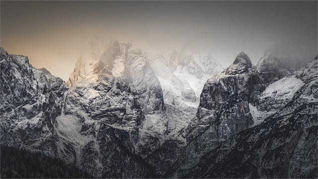 _DSC4317 Mattina d'inverno nelle Dolomiti del Cadore - Belluno - Veneto / Italia