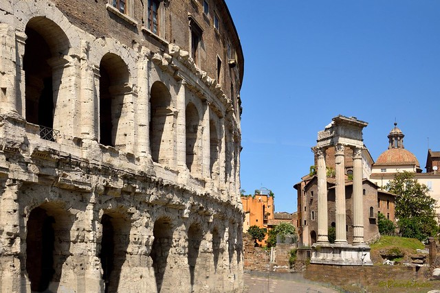Rome : Teatro Marcello / Tempio di Apollo Sosiano  Explore #370