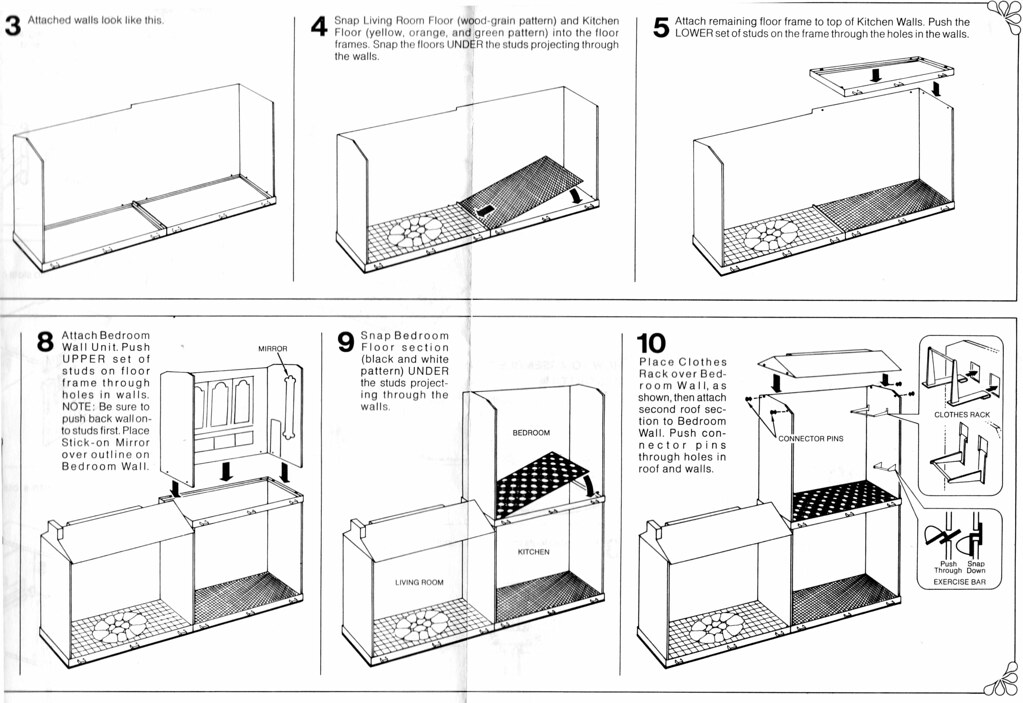 Barbie Surprise House Instructions Booklet | Mandatory Credi