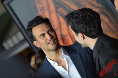 Cheyenne Jackson at the premiere of FX's The People v. O.J. Simpson #ACSFX - DSC_0172