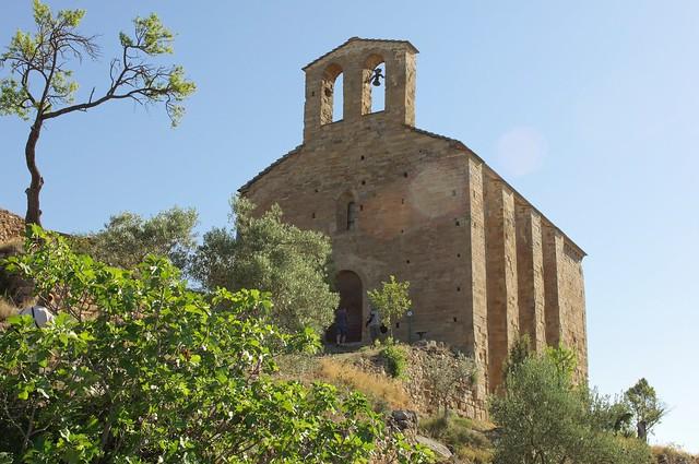 Ermita de San Román. La Puebla de Castro (Huesca)