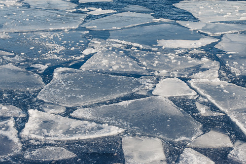Ice Floes, Lake Superior, Duluth | by Sharon Mollerus