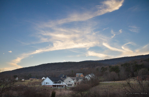 pink blue sunset red sky clouds maryland lavale alleganycounty canonefs1755mm28isusm canoneos7d cashvalleyroad