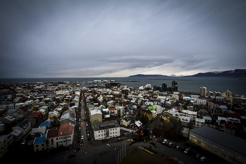 View from Hallgrímskirkja | by breakbeat