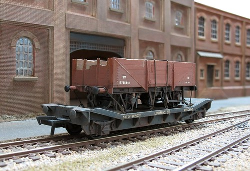 Generous Bachmann 34-325z Parcels Van Br Blue Internal User Model Railroads & Trains weathered
