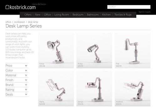 Desk Lamp Series