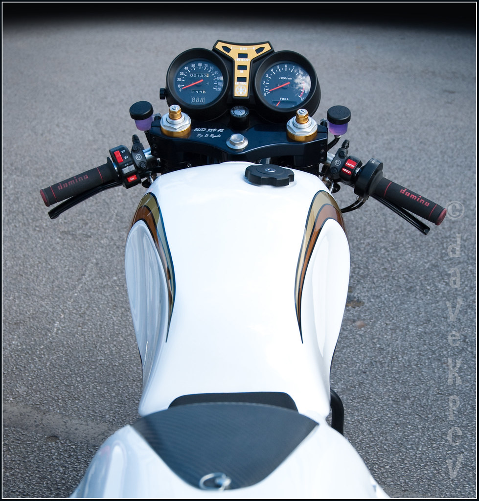 Yamaha RD LC - view from the back | Yamaha RD350 | davekpcv | Flickr