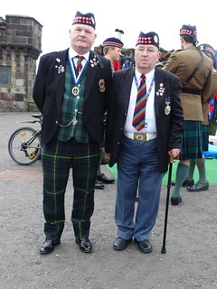 Veterans from The Royal Scots