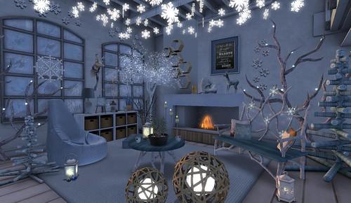 Circa Living- Winter Solstice & WinterWoods | by Hidden Gems in Second Life (Interior Designer)