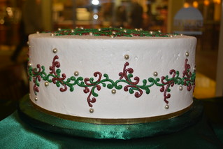 Christmas Cake | by How Sweet It Is Cakes