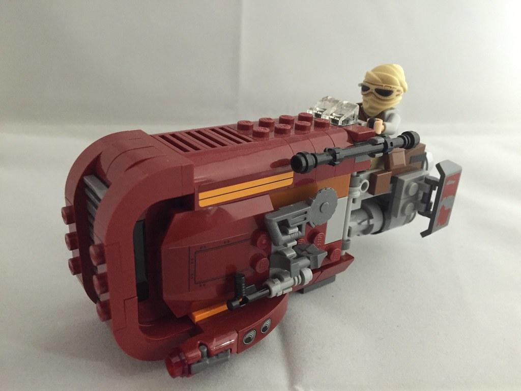 Lego Star Wars Reys Speeder 75099 Bademeistar Flickr