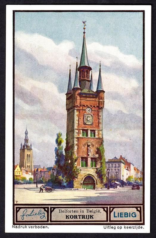 Liebig Tradecard S1330 - Kortrijk