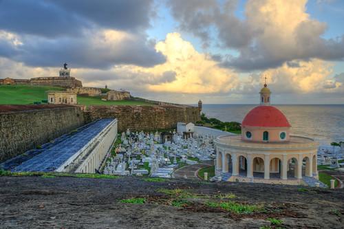 ocean santa old cemetery sunrise de puerto san juan oldsanjuan puertorico maria cementerio atlantic rico pr magdalena pazzis cementeriosantamariamagdalenadepazzis