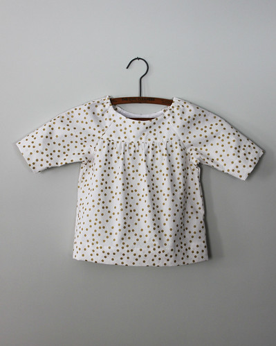 Gold Dot Class Picnic Blouse | by olive bunny