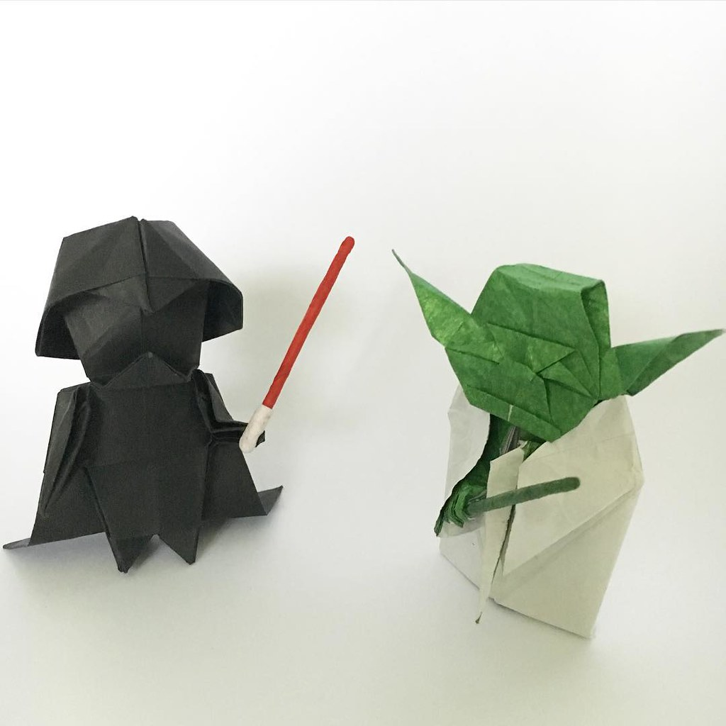 STEAM at Home: Origami Yoda | White Plains Public Library | 1024x1024