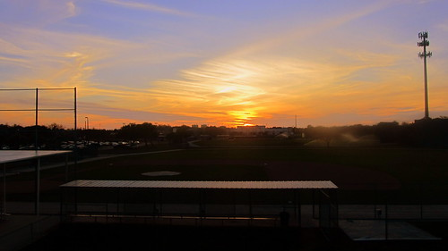 sunset field minnesota training spring twins baseball