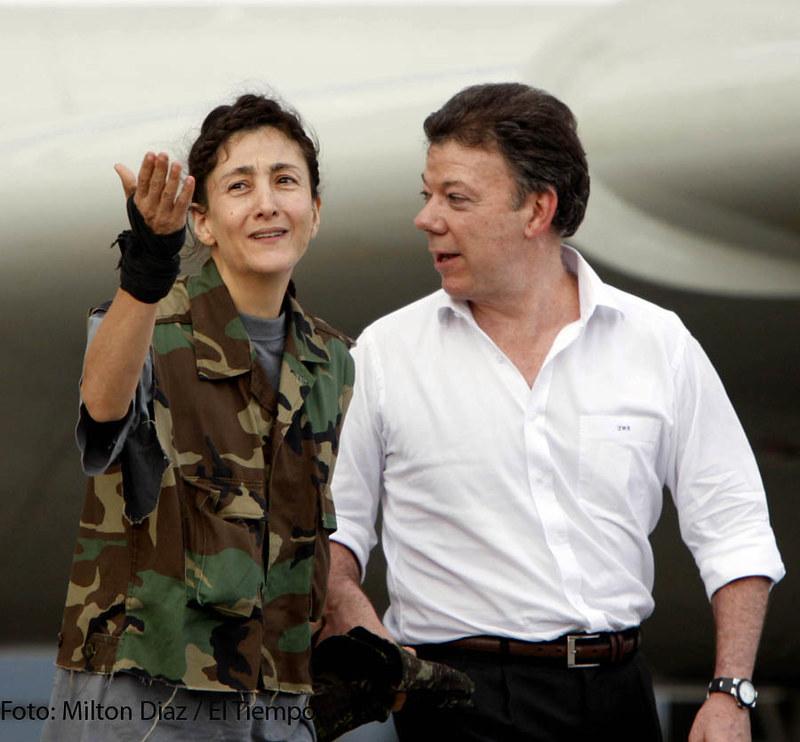Ingrid Betancourt | BOGOTA JULIO 2 DE 2008. LLEGADA DE INGRI… | Flickr