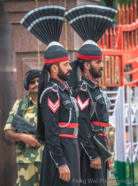 Wagah Border Ceremony, Punjab, Pakistan