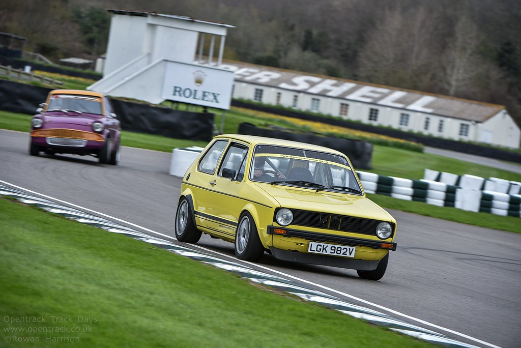 Goodwood Trackday 18th April 2016 With Opentrack Track