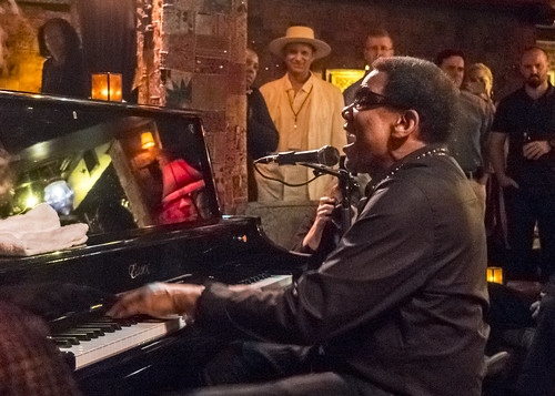 Henry Butler performs in Club 88 at Piano Night 2016