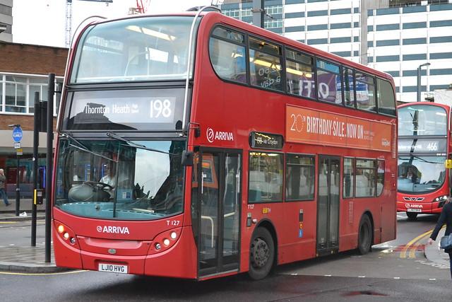 Arriva London T127 LJ10HVG