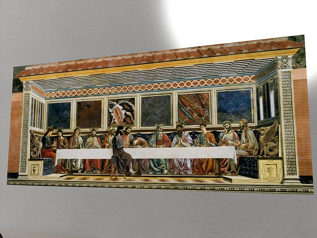 Renaissance Gallery - Fresco of the Last Supper