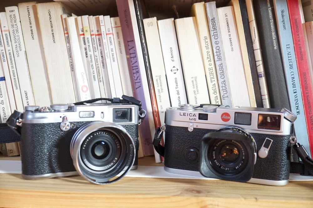Leica vs Fuji | PBRC9704 | fotocamere storiche | Flickr