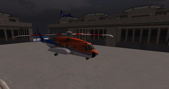 My New Shergood Aviation Helicopter. Sikorsky S-92