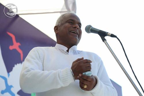 SNM Branch Sanyojak Ratan Lal expresses his views