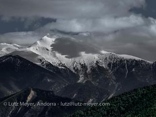 Andorra mountain landscape: Ordino, Vall nord, Andorra