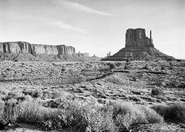 At Monument Valley
